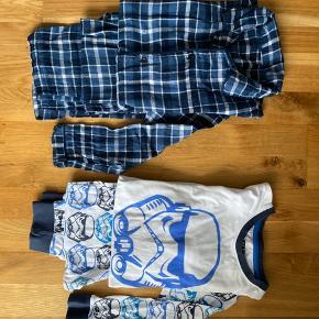 Pyjamas Str: 134/140  Badeshorts str: 134  Bukser fra Føtex str: 134  Sæt str: 134