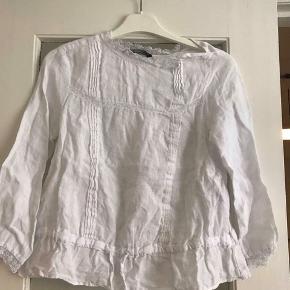 Hvid bluse fra Zara 😁