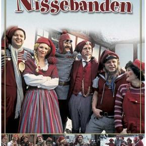 TV julekalender 24 afsnit på DVD - Nissebanden  - Jul på Kronborg  - Olsen-bandens første kup  100kr/stk Sender gerne