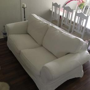 BETRÆK! Til IKEA EKTORP 2-personers sofa i hvid  (Bemærk: kun betræk)