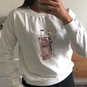 Hvid sweater - str. S