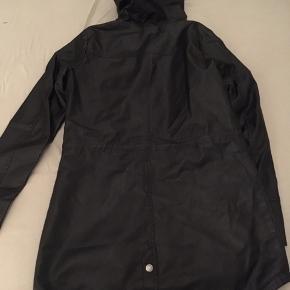 Sort pu læder jakke