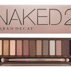 Urban Decay Naked 2 palette, sælges da jeg ikke går med øjenskygge. Tags: Morphe, MAC, NYX, Nars, Zoeva, Maybelline  BUD PÅ 100