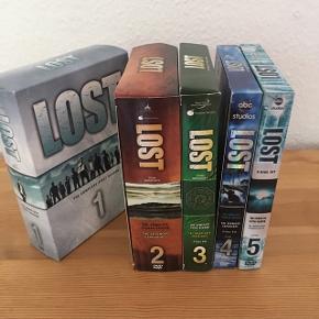 Tv-serien 'LOST' på DVD. Sæson 1-5.