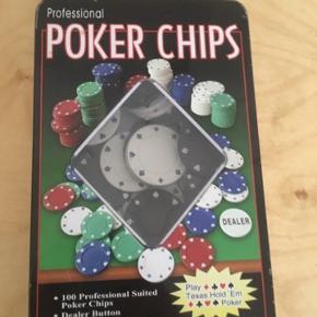 Poker Chips   - fast pris -køb 4 annoncer og den billigste er gratis - kan afhentes på Mimersgade 111 - sender gerne hvis du betaler Porto - mødes ikke andre steder - bytter ikke