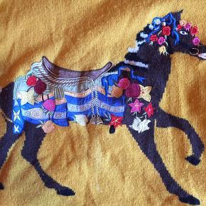 Der er lidt stearin på hesten, men det kan sikkert nemt fjernes