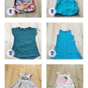 50kr samlet. T-shirt, kjole og sommertøj til pige