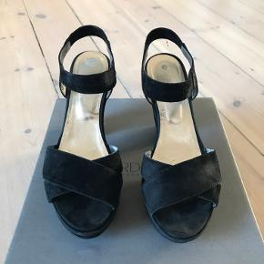 Chunky sandaler med plateau fra Gardenia.  Afhentes på Vesterbro ☀️
