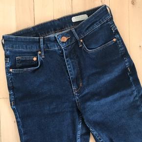 Str. 26/32, High waist, slim leg