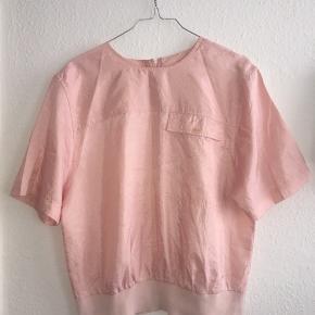 Vintage lyserød top