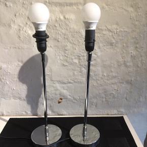 2 lamper i stål som ny