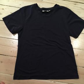 Blød, lidt tyndere bomuldsstof t shirt fra Weekday