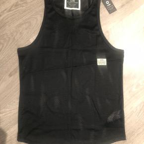 """Fedeste tanktop i sort """"net"""". Jack&Jones Core Workwear. Ny med mærke i."""