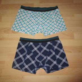 Brand: - Varetype: Nye boxershorts, god kvalitet! Størrelse: XXL Farve: Blå, grøn  Helt nye boxershorts, underbukser, aldrig brugt, kun vasket. God kvalitet.