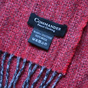 100% uld tørklæde fra Commander