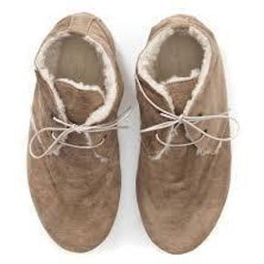 0a42ebaf065 Varetype: sko Farve: brun med lidt glimmer Oprindelig købspris: 900 kr.  bløde