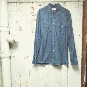 Soulland denim skjorte str l