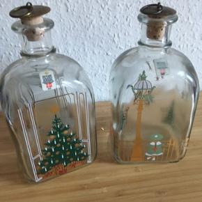 Holmegaard flaske jul 60kr stykket -fast pris -køb 4 annoncer og den billigste er gratis - kan afhentes på Mimersgade 111 - sender gerne hvis du betaler Porto - mødes ikke andre steder - bytter ikke