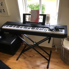 YAMAHA Digital piano P-45. Brugt få gange. Købt ved 4Sound i Aalborg.