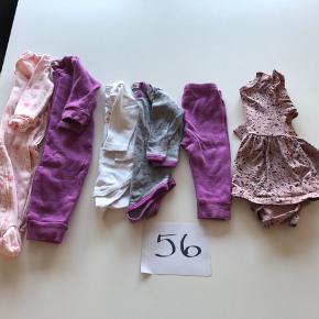Lille pigepakke det meste er uld og ikke brugt ret meget
