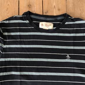 Klassisk t-shirt fra Original Penguin i str. Large. Køb billigt: 50 kr.