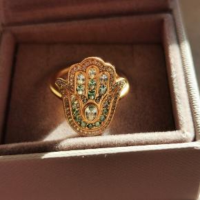 Julie Sandlau Hamsa Protection ring i str 58 sælges  Virkelig flot ring der bør ses    #30dayssellout
