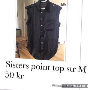 Sisters Point top str M. Pris 40 kr pp med dao