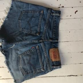 Demin shorts fra levis    #Secondchancesummer