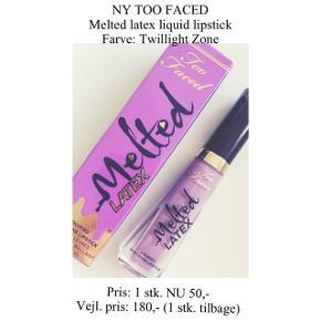 Brand: Too Faced Varetype: Liquid lipstick Farve: Twillight Zone  Aldrig brugt - stadig i æske ☀️