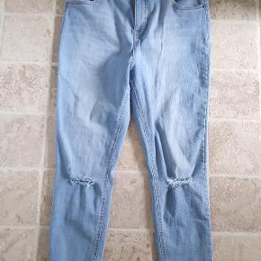 Dorothy Perkins højtaljede stretch jeans i str. 46. Aldrig brugt.