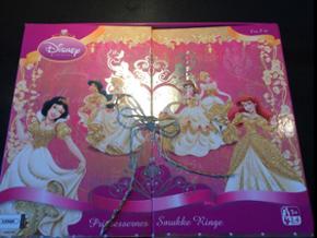Disney prinsesse spil. Med glimmer, fingerringe og regler.