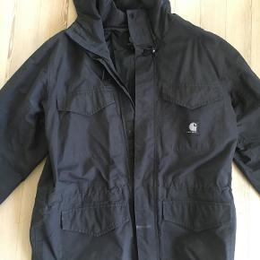 sort Triton Jacket fra Carharrt-sprøg for info