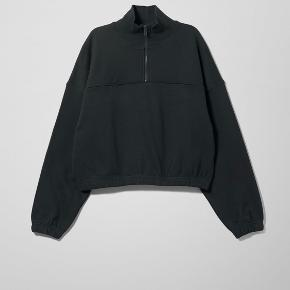 fed zip up sweater fra weekday