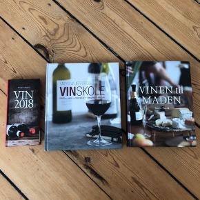 Helt nye vinbøger - aldrig brugt