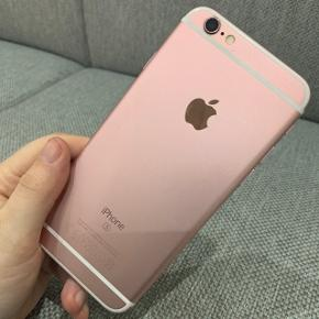 iPhone 6s pink 64gb til salg. Ingen ridser på skærm eller tlf. Som ny virker perfekt1600kr eller byd realistisk.