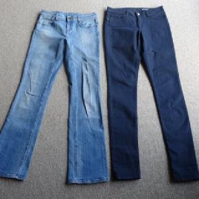 2 par meget lækre bukser fra Tommy Hilfiger  Dem til venstre er str. 26/32 dem til højre er str. 27/34  Prisen er pr. par