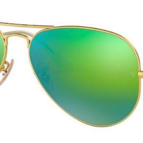 Ray-Ban solbriller  Model: RB3025 112  Stellet er guld