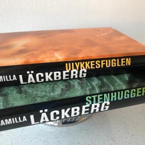 Super gode bøger  Stenhuggeren  ulykkesfuglen  Af Camilla lackberg  Sælges for 75 kr. Pr. Stk.