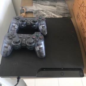 PlayStation 3, 2 stick. Har alt undtaget strømstik