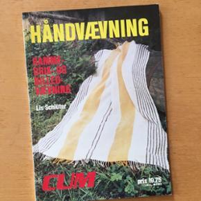 Håndvævning vintage blad 1977