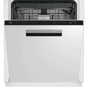 BEKO opvaskemaskine EDDN28535W (hvid) sælges.  Maskinen er købt i slutningen af marts 2019 og fremstår derfor som næsten ny.   Jeg sælger oogså vaskemaskine og tørretumbler - køb alle 3 til en god pris!  Programmer Enheden tilbyder 8 programmer og kan klare op til 15 kuverter samtidigt.  AquaIntense teknologi En ekstra sprayarm hjælper med at gøre servicet ordentligt rent.  Justérbar Den øvre kurv kan tilpasses til højden af servicet i 3 forskellige positioner.  LEDSpot Find ud af, om cyklussen er slut, takket være LEDSpot indikatorlyset på basen af opvaskemaskinen.  Stille drift Opvaskemaskinens drift generer kun 40 dB, så den tilbyder stille drift.  Motor BLDC motoren er dækket af 10 års garanti.