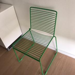 "HAY spisebordsstol.  Rigtig fin stand. Har blot stået som ""pynt"" 250 kr"