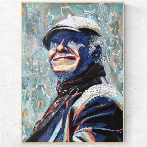 KIM LARSEN. Collagekunst. Sælges som limited edition print i et begrænset oplag i lækkert 170 g. Silk papir.  750 kr. / str. A1. (594x841 mm)  Forudbestilles nu 🙂  💥Følg gerne min instagram artbybisse, som bliver opdateret løbende. 🙂 💥http://www.facebook.com/artbybisse  Tags: kim larsen, kunst, plakat, Urban, collage, musik, gasolin