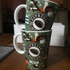 Collection cups from Espresso House. (2017) Price is per cup - 1 for 25 DKK.