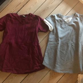 By Clara kjole til venstre str 116 men svare til 110/116 nsn 40 kr, ny grå by Clara kjole svare ligeledes til 110/116 60kr