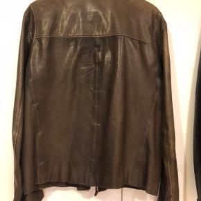 Armani skind- & læderjakke