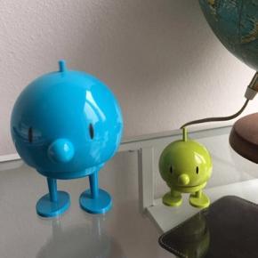 Hoptimist - stor blå og lille i grøn