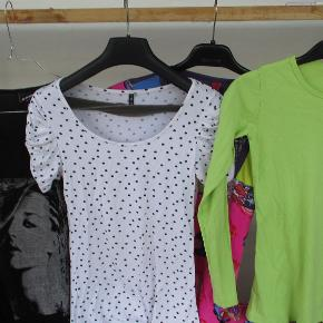 3 bluser og 1 tunika sælges samler  LYSERØD TUNIKA SOLGT.  Resten sælges for kun 50 kr.   Spørg gerne for mere info eller flere billeder.  Se også mine flere end 100 andre annoncer med bla. dame-herre-børne og fodtøj