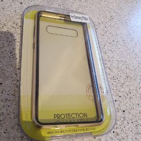 Samsung Galaxy S10+ (Plus) 360⁰ Magnetisk Cover m. Glas Forside & Bagside - Guld Kun været i brug 2 gange.