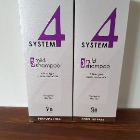 Nye og ubrugte shampoo fra System 4. Sælges kun samlet for 300kr.